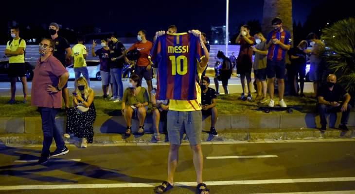 مشجعو برشلونة يطالبون بارتوميو بالإستقالة