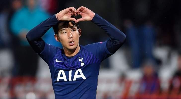 سون افضل لاعب اسيوي محترف خارج القارة لعام 2019