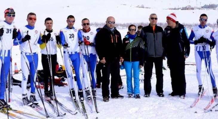 نتائج اليوم الأول من بطولة الدول الصغرى في تزلج العمق