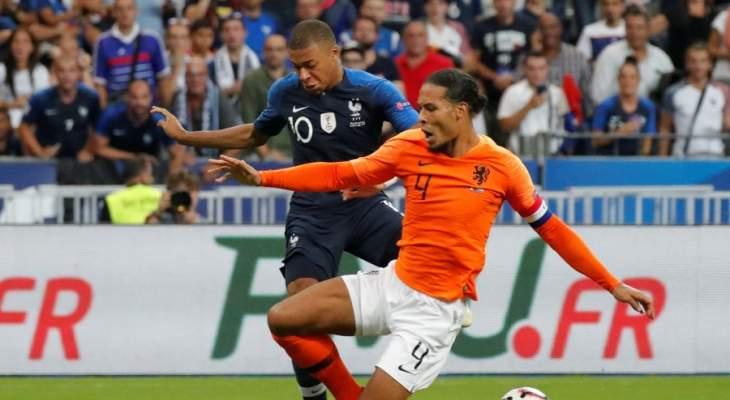 تقييم لاعبي هولندا بعد مباراة فرنسا