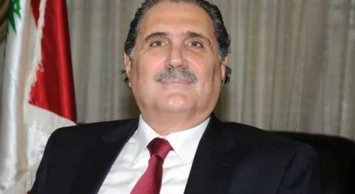 جريصاتي بحث مع وفد الاتحاد اللبناني لكرة السلة  شؤون وأمن الملاعب