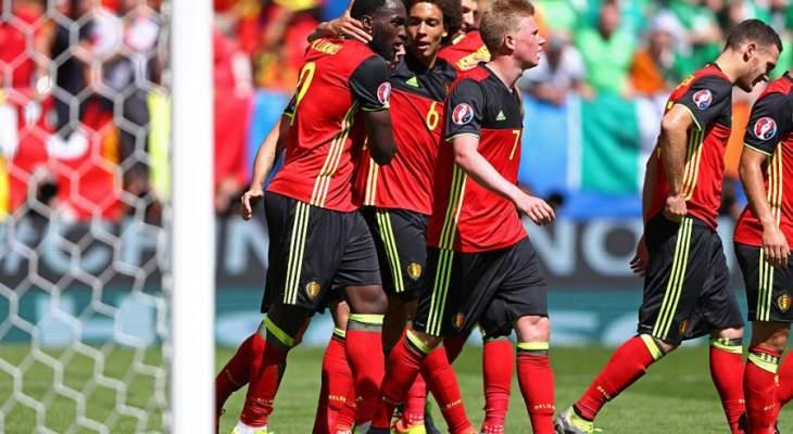 أهداف مباراة منتخب بلجيكا و ايرلندا