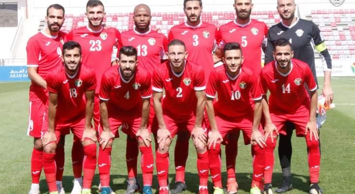 منتخب الاردن يلتقي العراق وسوريا ودياً في معسكر دبي