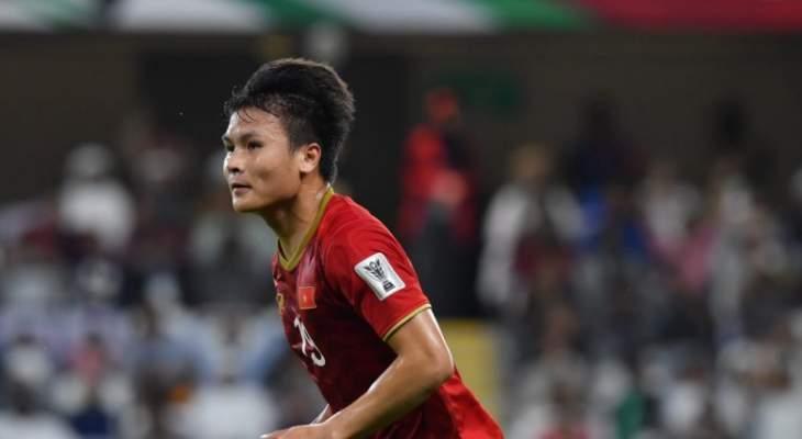 الفيتنامي نغوين كوانغ هاي يفوز باستفتاء أجمل هدف في كأس آسيا
