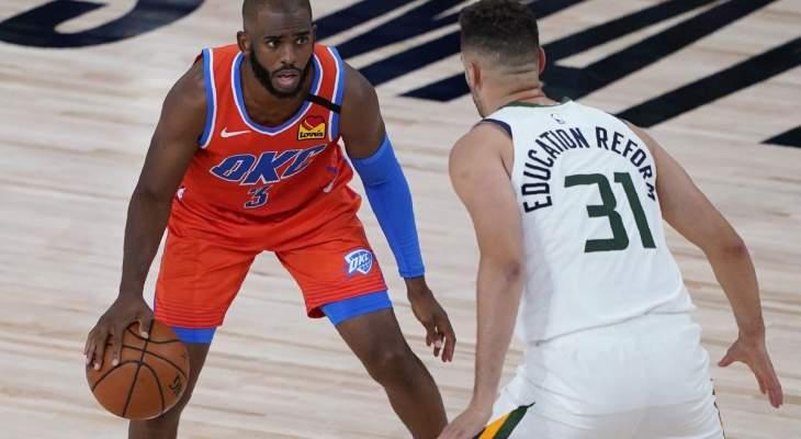 NBA: اوكلاهوما الى النهائيات وسقوط الليكرز امام تورنتو
