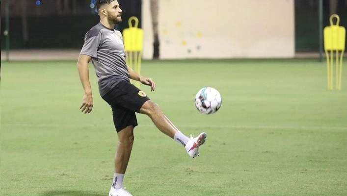 يوسف بلايلي يخوض اولى تدريباته بقميص نادي قطر