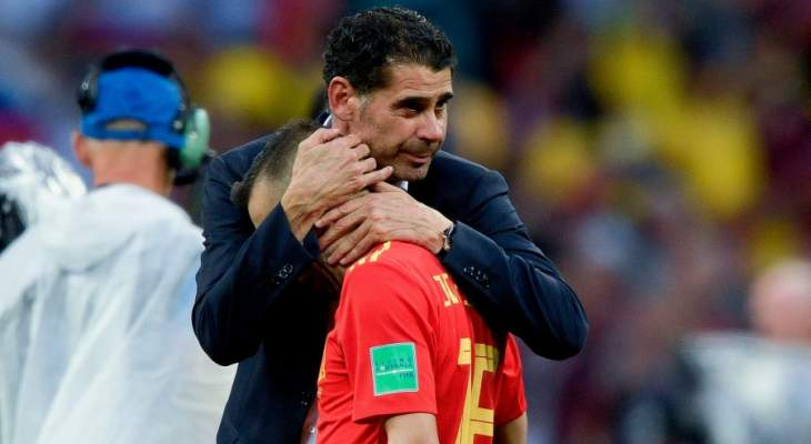 إنتهاء مهمة هييرو كمدرب لمنتخب إسبانيا