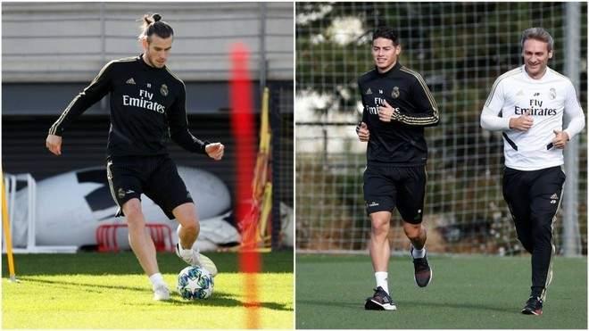 بايل ورودريغيو تدربا بشكل منفصل في تدريبات ريال مدريد