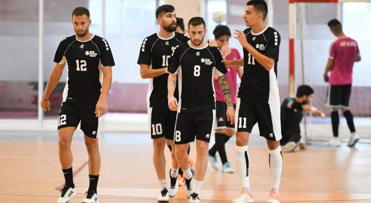 بنك بيروت يفوز ودياً على نفط الوسط إستعداداً لبطولة آسيا لكرة الصالات