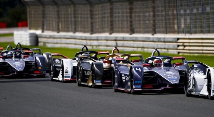 صورة جماعية لسائقي بطولة الفورمولا إي