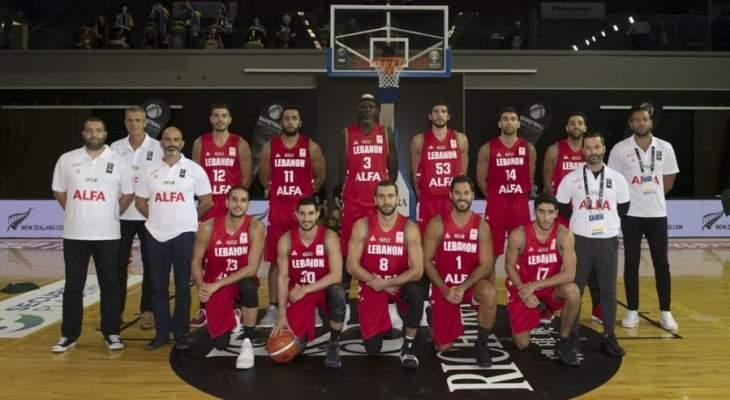 لبنان يُحرج نيوزيلاند على ارضها ويخسر بفارق 3 نقاط