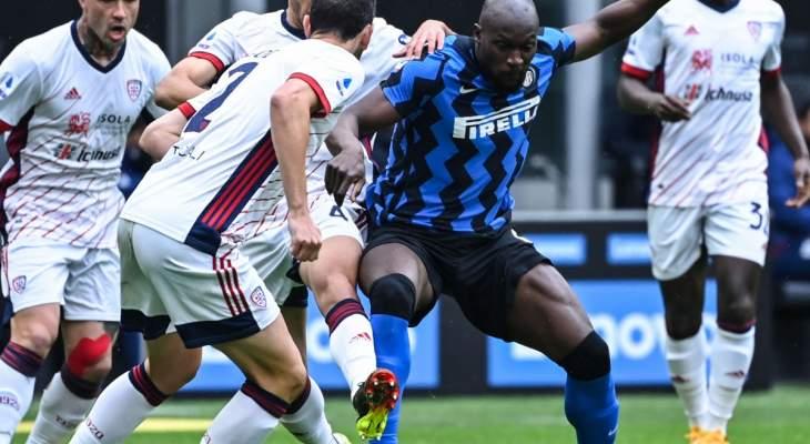 الدوري الايطالي: إنتر يبتعد في الصدارة بفوزه على كالياري