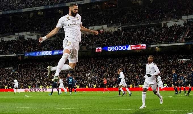 كريم بنزيما يواصل كتابة التاريخ مع ريال مدريد