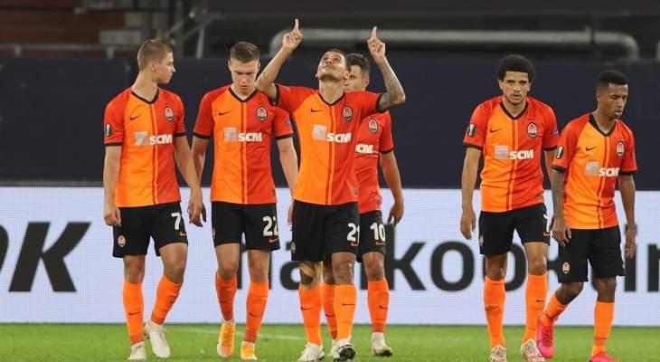 اهداف مباراة شاختار وبازل في الدوري الاوروبي