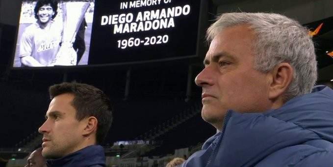 مورينيو متأثرا: هناك دييغو وهناك مارادونا