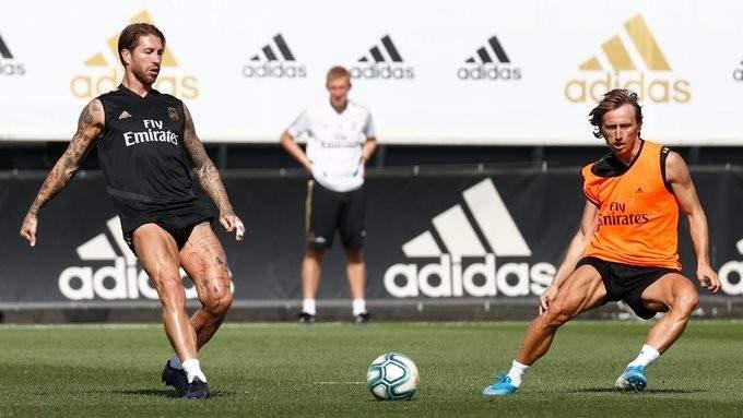 تدريبات ريال مدريد تشهد عودة راموس