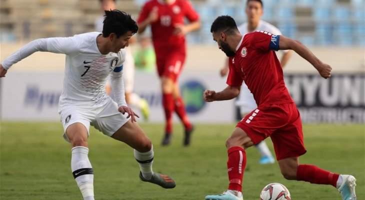 قرارات موفقة من الحكم العراقي في مباراة لبنان وكوريا الجنوبية