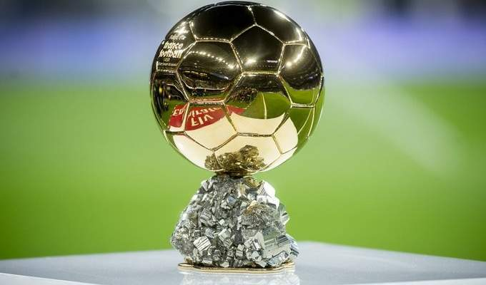 ترتيب اول 15 لاعب في قائمة فرانس فوتبول للكرة الذهبية