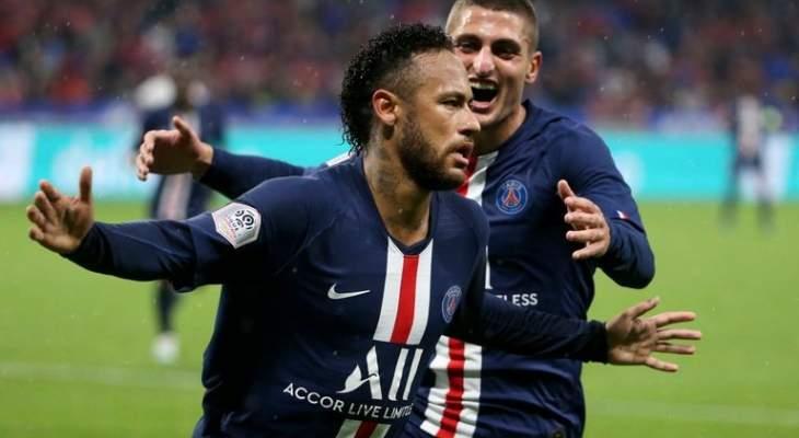 نيمار سعيد باهدافه مع باريس سان جيرمان