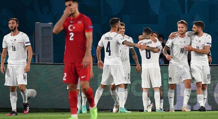 مجريات مباراة ايطاليا وتركيا في افتتاح يورو 2020