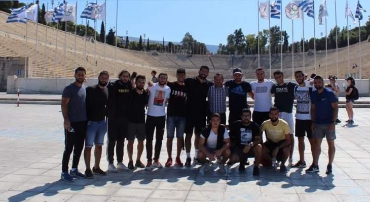 بعثة جامعة الروح القدس-الكسليك عادت من معسكرها التدريبي باليونان