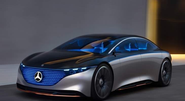 مرسيدس تطور نسخة كهربائية من سلسلة سيارات S