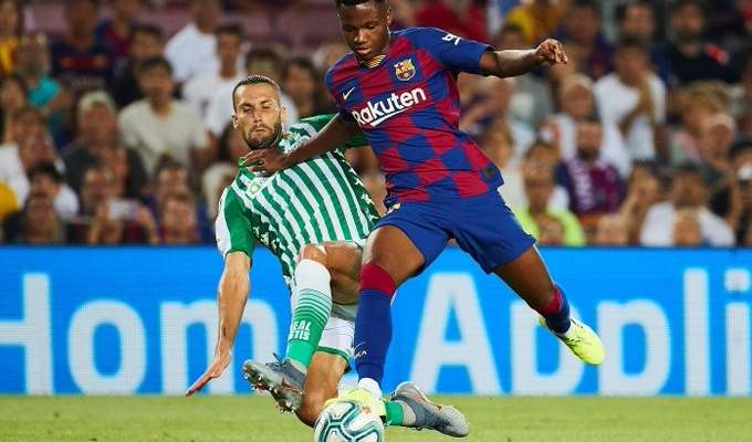 اولى تصريحات فتى برشلونة الجديد