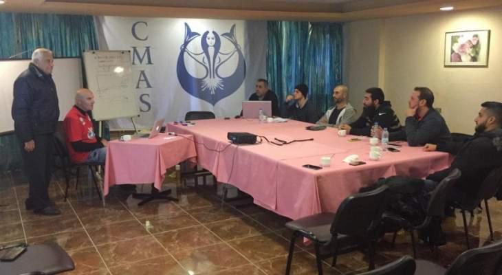 دورة دراسة حكام في الغوص باشراف التركي اوزوسال