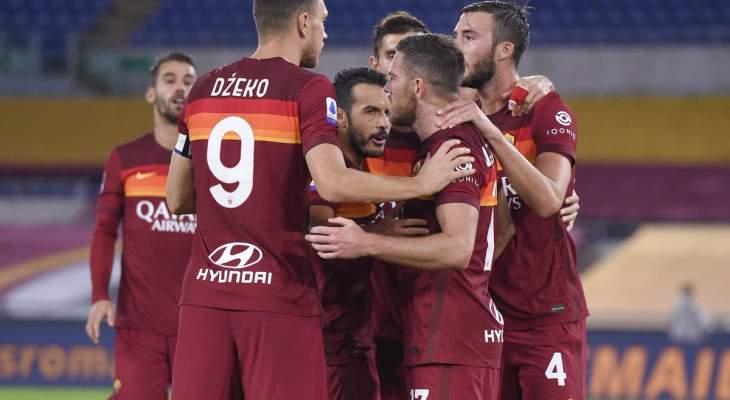 اهداف مباراة روما وبينيفينتو في الدوري الايطالي