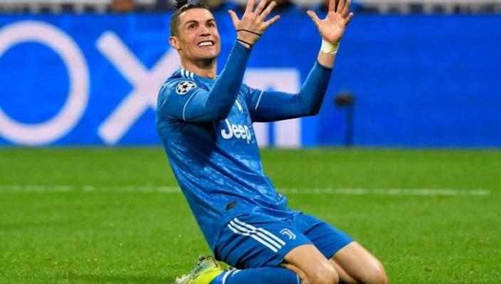 تعليق رونالدو بعد هزيمة يوفنتوس أمام ليون