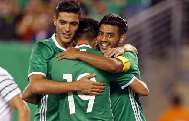 المكسيك تفوز وديا على ايرلندا