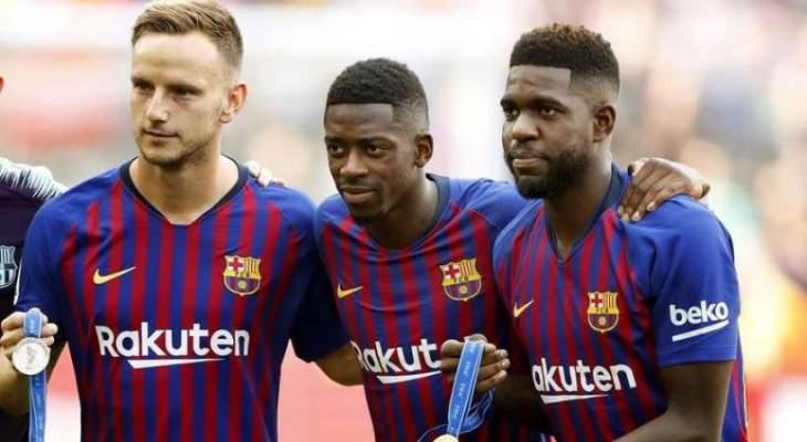 برشلونة ينوي بيع 3 لاعبين لمنافسة ريال مدريد على هدفه
