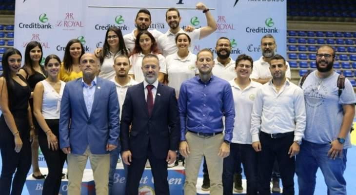 """دورة بيروت المفتوحة بالتايكواندو تُمنح التصنيف الدولي""""جي 2"""""""
