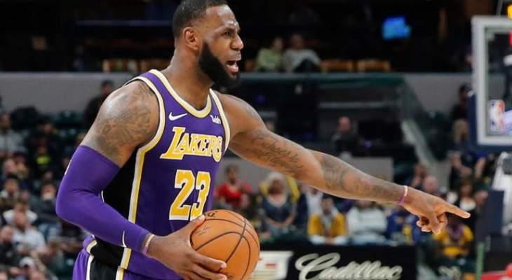 ليبرون جيمس يتلقى الخسارة الاكبر في مسيرته في NBA