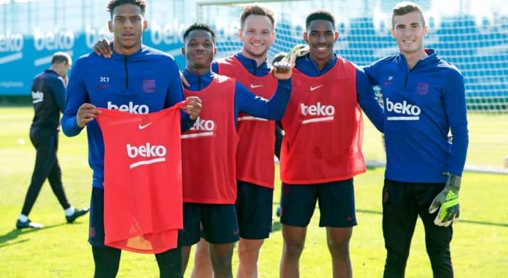 برشلونة يعود إلى التحضيرات بعد الراحة ويستعيد سيرجي روبيرتو