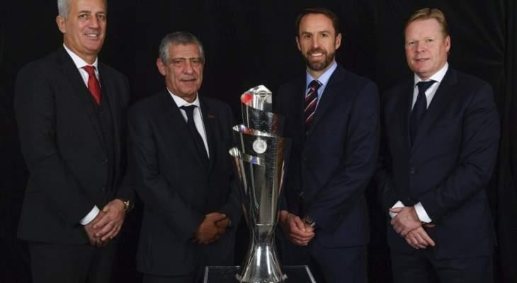 التحضيرات بدأت لقرعة الدور نصف النهائي من دوري الأمم الأوروبية
