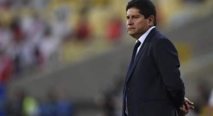 مدرب بوليفيا يشيد بلاعبيه بالرغم من الخسارة