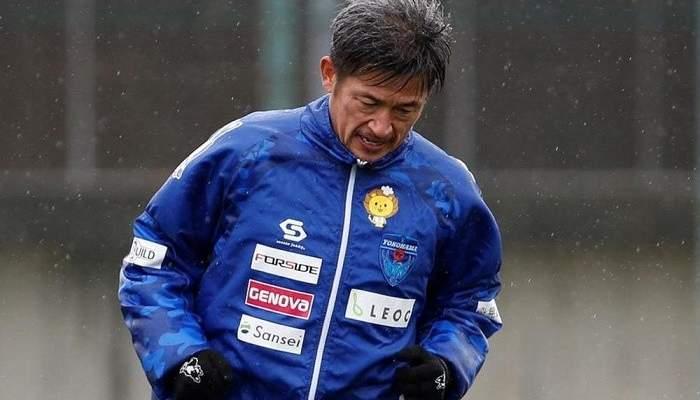 كازويوشي ميورا أكبر لاعب أساسي في الدوري الياباني