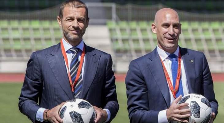 انتخاب لويس روبياليس نائبا لرئيس الإتحاد الأوروبي لكرة القدم