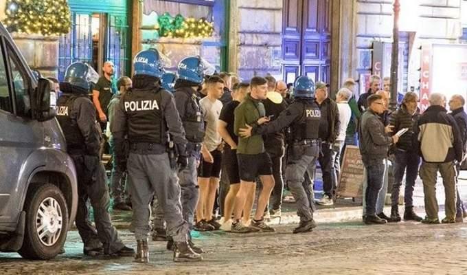 مشجعون لسلتيك يتعرضون للطعن في مدينة روما