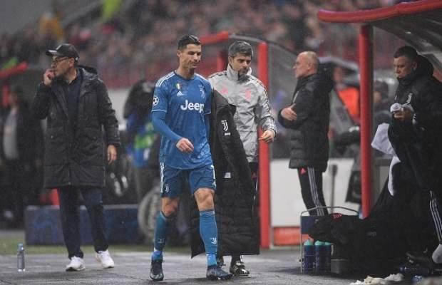 رونالدو يُبدّل لأول مرة في دوري الأبطال منذ عام 2016