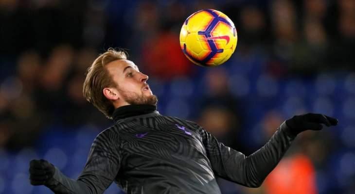 برشلونة يراقب وضع كاين في توتنهام