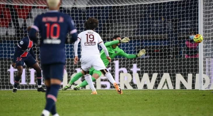 اهم مجريات مباراة باريس سان جيرمان-بوردو