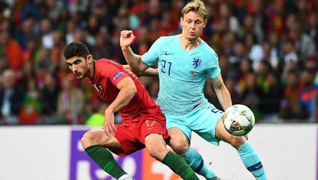 ركلة جزاء واضحة لهولندا امام البرتغال