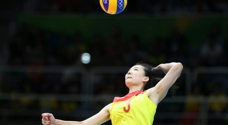 إيقاق لاعبة كرة طائرة صينية أربع سنوات لتنشطها