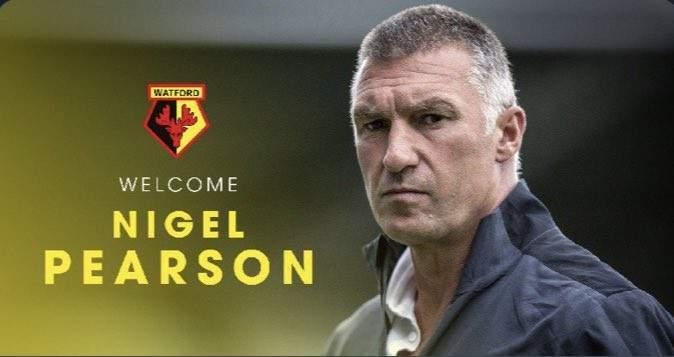 بيرسون مدربا جديدا لنادي واتفورد