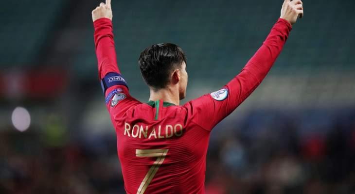 إستدعاء رونالدو إلى قائمة البرتغال لمواجهة كرواتيا والسويد