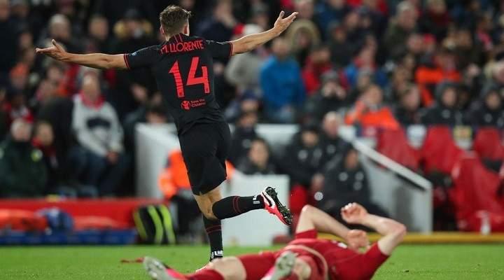 اتلتيكو مدريد يحرم ليفربول من مواصلة حملة الدفاع عن لقبه ليحجز مكانه في ربع النهائي