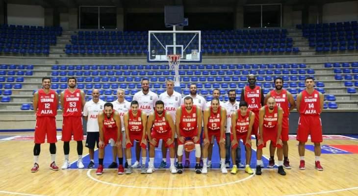 برنامج مباريات منتخب لبنان للسلة ضمن الدور الثاني لتصفيات كاس العالم