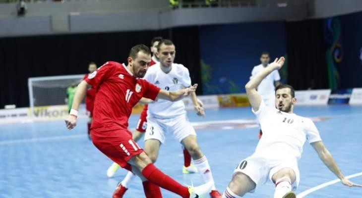 لبنان يتصدر مجموعته ويمر إلى ربع النهائي لمواجهة العراق